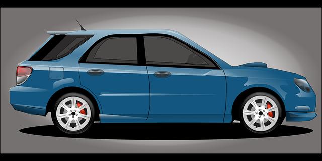 automobil ilustrace
